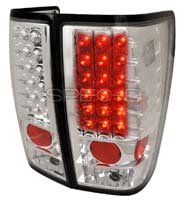 Led Spec-D Tuning LT-ALT074CLED-DP Chrome Tail Light
